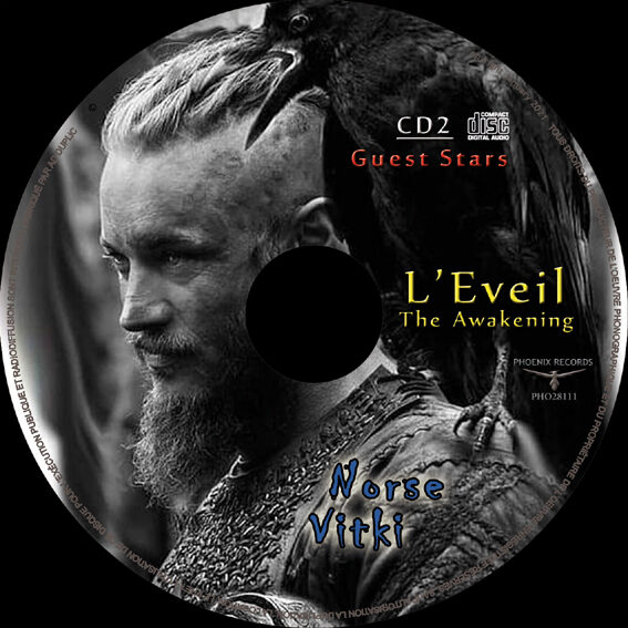 Viking Doom Death Heavy Metal Double Digipack L'EVEIL + FREE USB Video key + FREE new Industrial Metal album