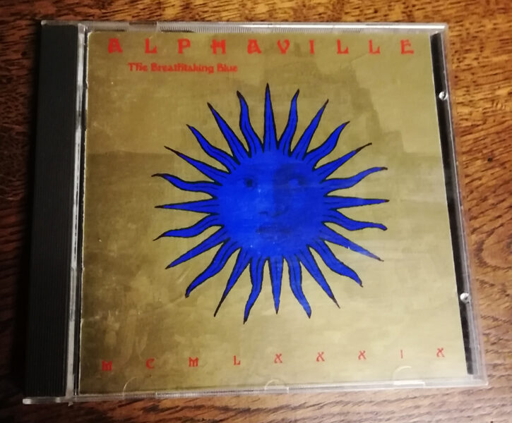 ALPHAVILLE CD The Breathtaking Blue
